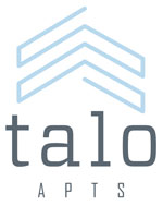 The logo for Talo Apartments.