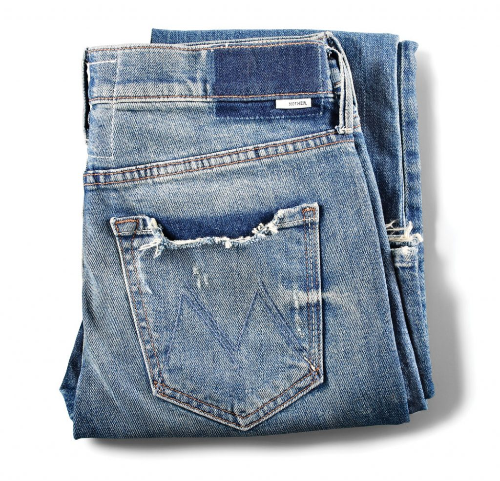 The Saint-Mother Denim, $285, The Golden Rule