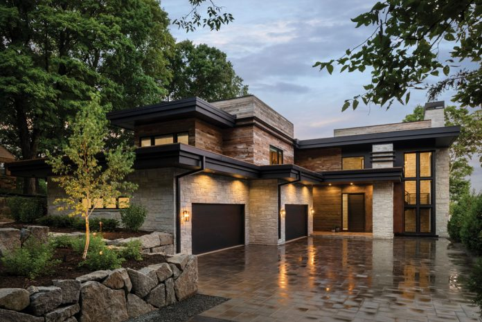 Built by Stonewood, LLC, this Orono home's