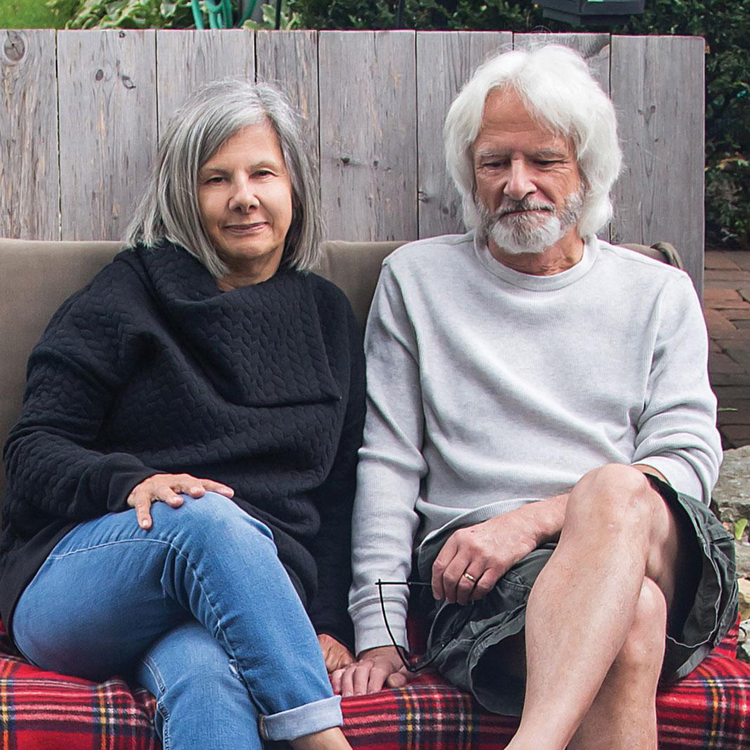 Owners Christine Scotillo and Doug Peine.