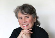 A portrait of Susan Denk, founder of White Crane Construction.