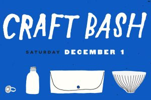 The logo for Craft Bash.