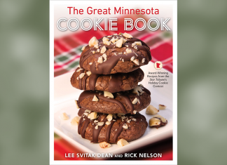 Cookbook cover: The Great Minnesota Cookie Book