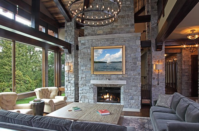 James McNeal Architecture & Design Irish Lake Lodge