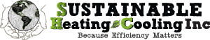 Logo for Sustainable Heating & Cooling