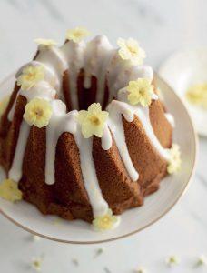 Spring Flower Bundt Cake