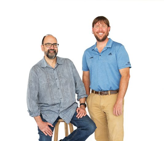 James McNeal, principal, and Luke Busker, general contractor; James McNeal Architecture & Luke Busker Masonry