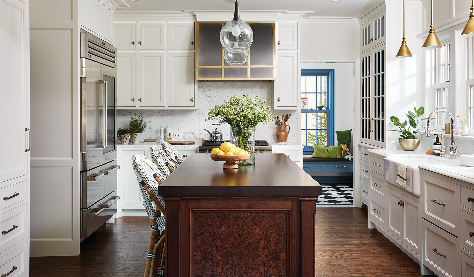 Chisel Architecture's remodel of a 1920s Tudor home. Photo by Alyssa Lee.