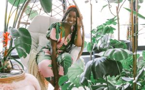 Shayla Owodunni, founder of the Plant Penthouse