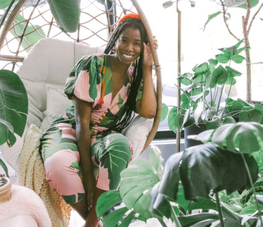 Shayla Owodunni, founder of the Plant Penthouse