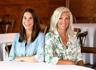 Co-founders and principals of Haus and Rowe, Kate Adamcsek and Marcelle Timonen