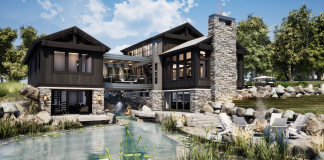 Hendel Homes and James McNeal's collaborative home on the 2020 Luxury Home Tour, virtual additions, by Midwest Home