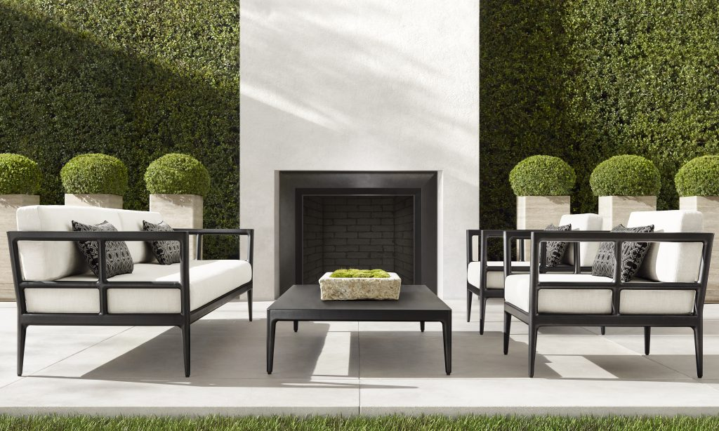 Rh Outdoor Kicks Off Summer In Style, Restoration Hardware Inspired Outdoor Furniture